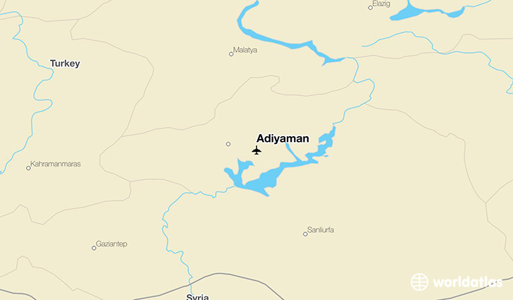 Adiyaman location on a map