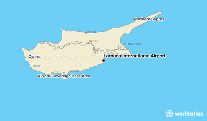 Larnaca International Airport LCA WorldAtlas