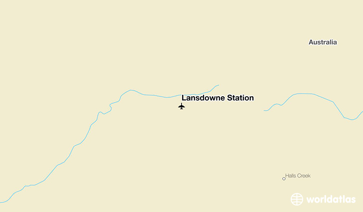 Lansdowne Station location on a map