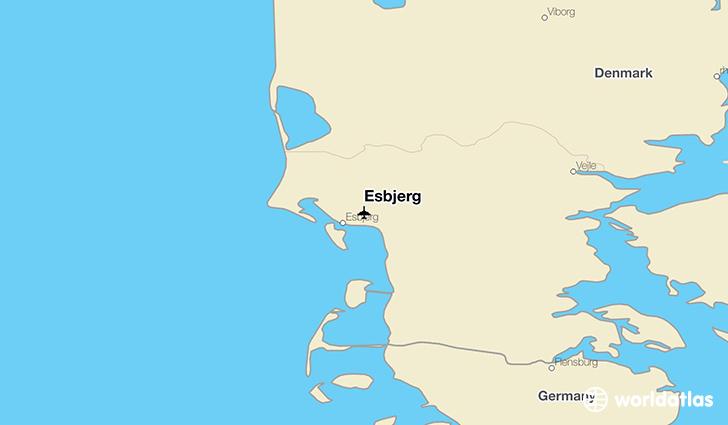 Esbjerg (EBJ) Airport - WorldAtlas