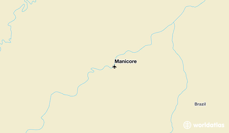 Manicore location on a map