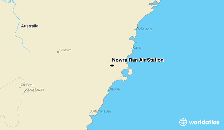 Nowra Ran Air Station location on a map