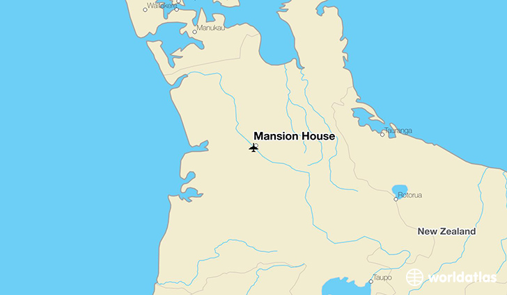 Mansion House location on a map