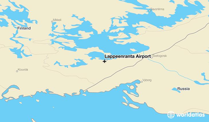 Lappeenranta Airport LPP WorldAtlas