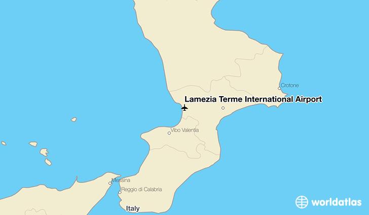Lamezia Terme International Airport SUF WorldAtlas