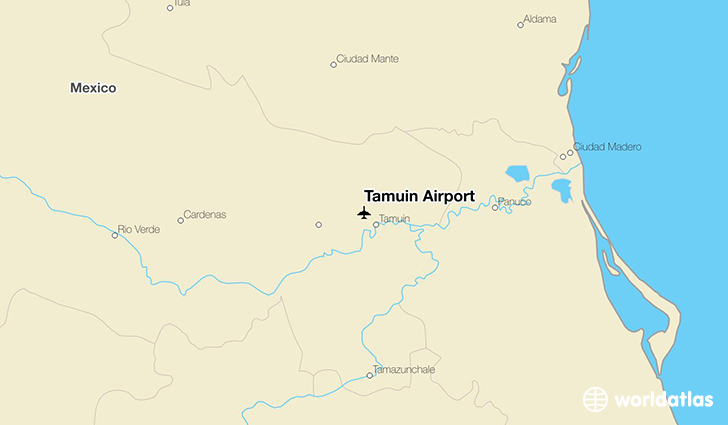 Tamuin Airport location on a map