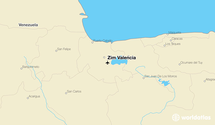 Zim Valencia location on a map