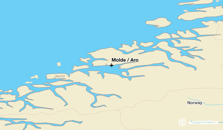 Molde / Aro location on a map