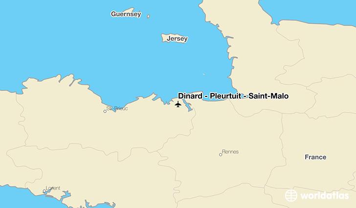 Dinard Pleurtuit SaintMalo DNR Airport WorldAtlas