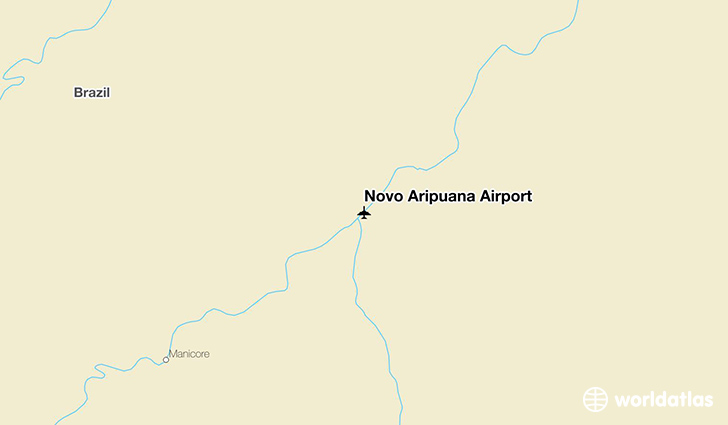 Novo Aripuanã Airport location on a map