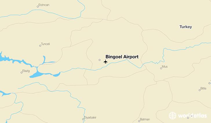 Bingl Airport BGG WorldAtlas