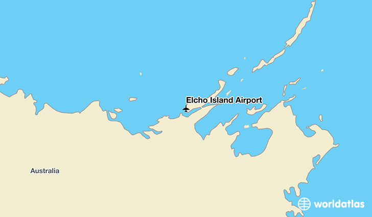 Elcho Island Airport location on a map