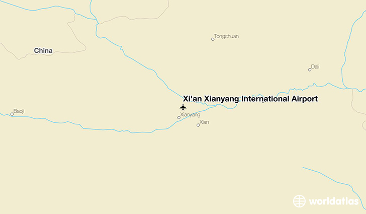 Xi An Xianyang International Airport Xiy Worldatlas