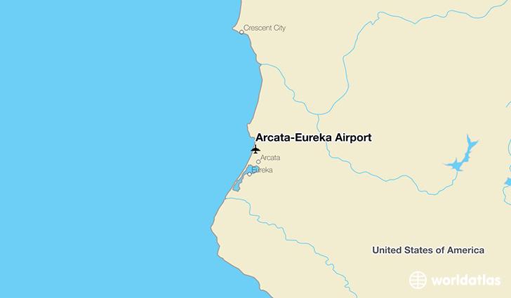ArcataEureka Airport ACV WorldAtlas