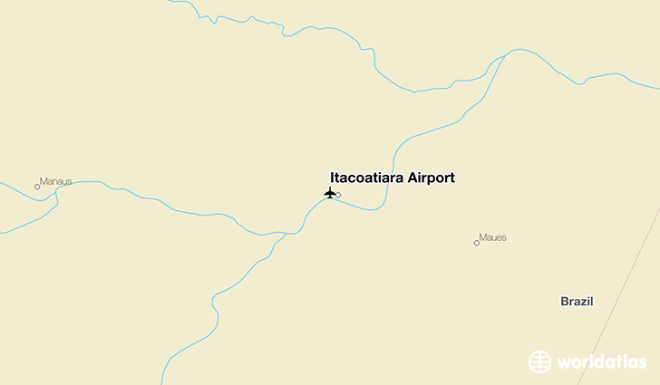Itacoatiara Airport location on a map