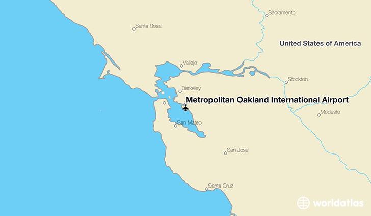 Metropolitan Oakland International Airport OAK WorldAtlas