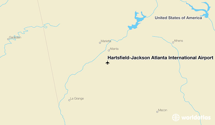 HartsfieldJackson Atlanta International Airport ATL WorldAtlas