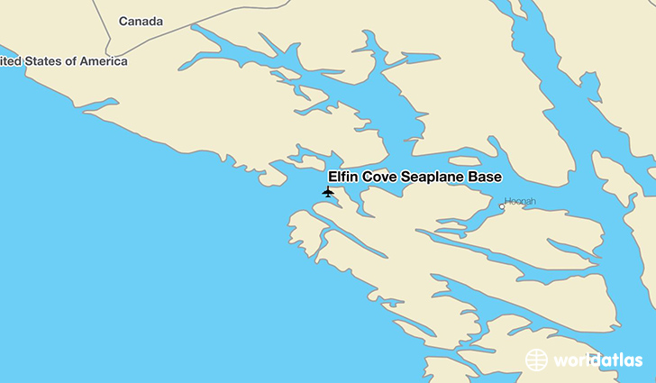 Elfin Cove Seaplane Base location on a map