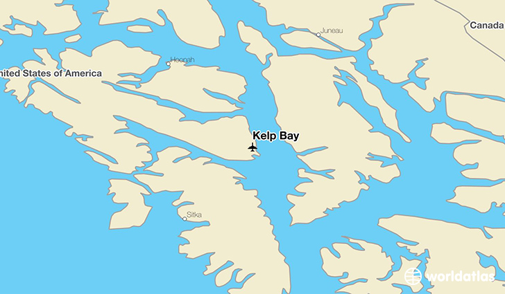 Kelp Bay location on a map
