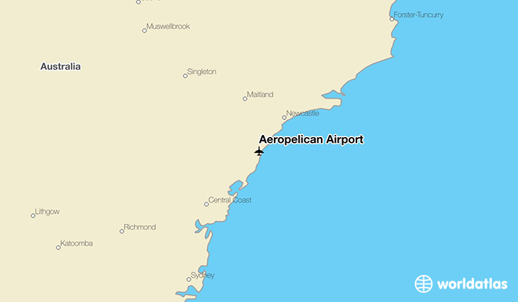 Aeropelican Airport location on a map