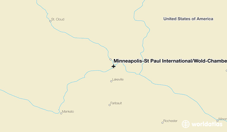 MinneapolisSt Paul InternationalWoldChamberlain Airport MSP