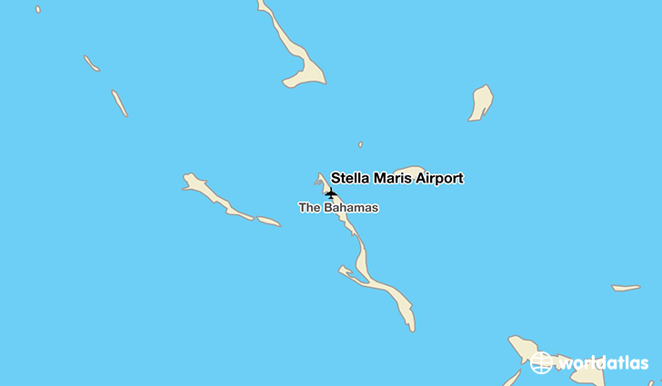 Stella Maris Airport location on a map