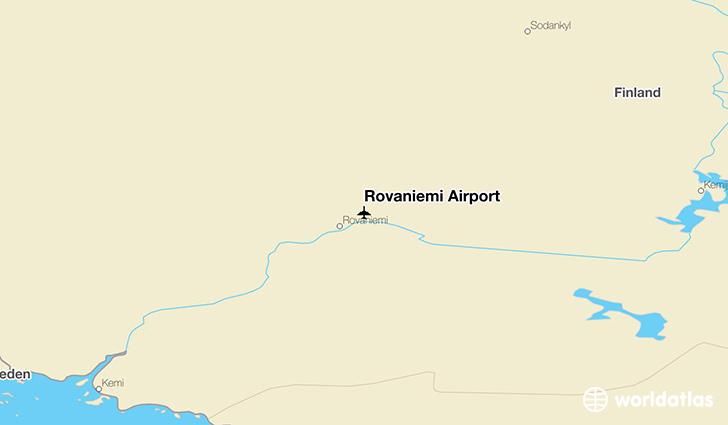 Rovaniemi Airport RVN WorldAtlas