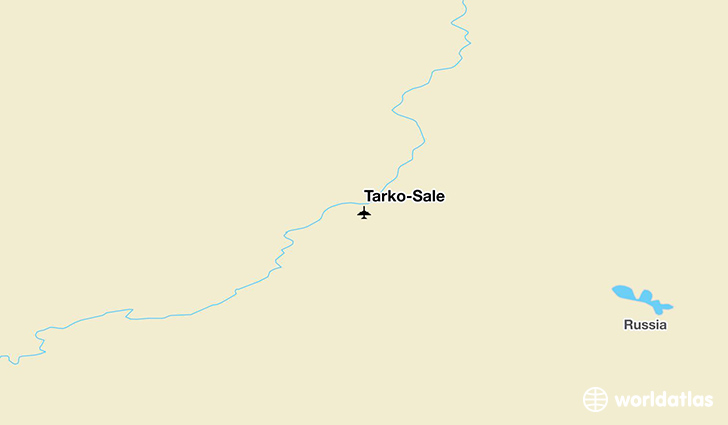 Tarko-Sale location on a map