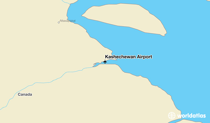 Kashechewan Airport location on a map