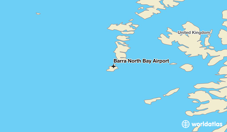 Barra North Bay Airport location on a map