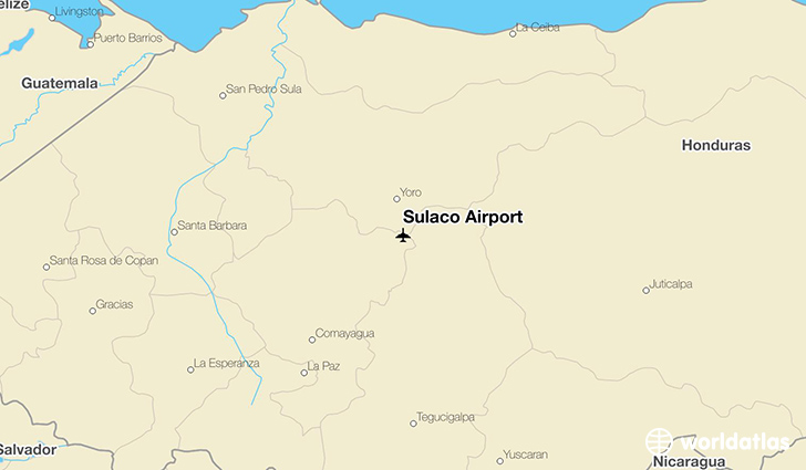 Sulaco Airport location on a map