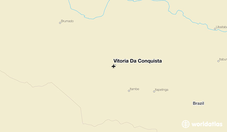 Vitoria Da Conquista location on a map