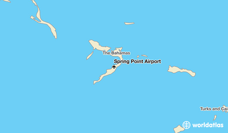Spring Point Airport location on a map