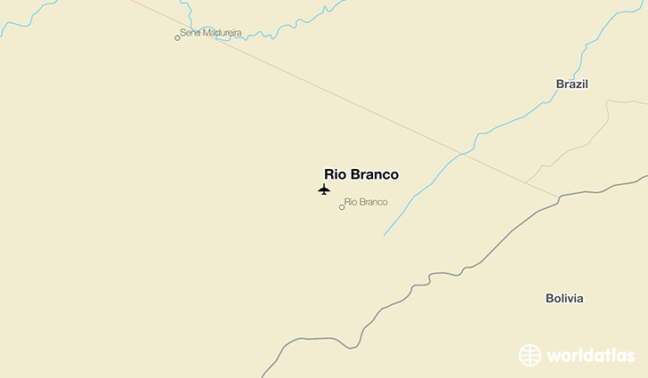 Rio Branco location on a map