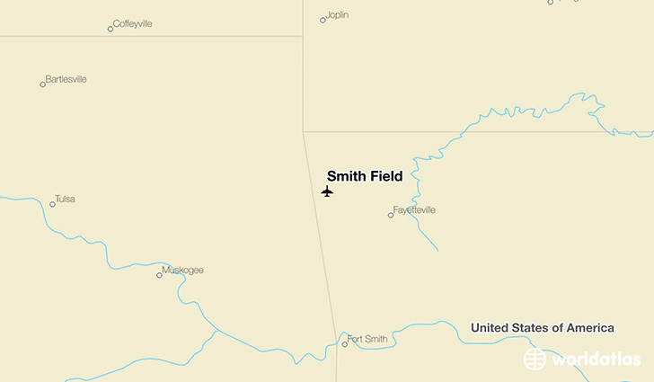 Smith Field location on a map