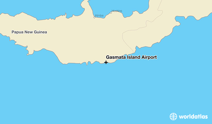 Gasmata Island Airport location on a map