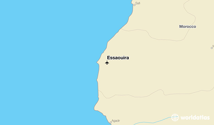 Essaouira location on a map
