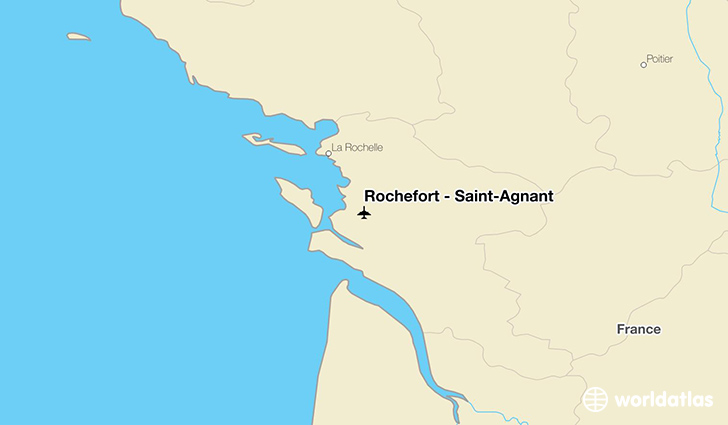 Rochefort - Saint-Agnant location on a map