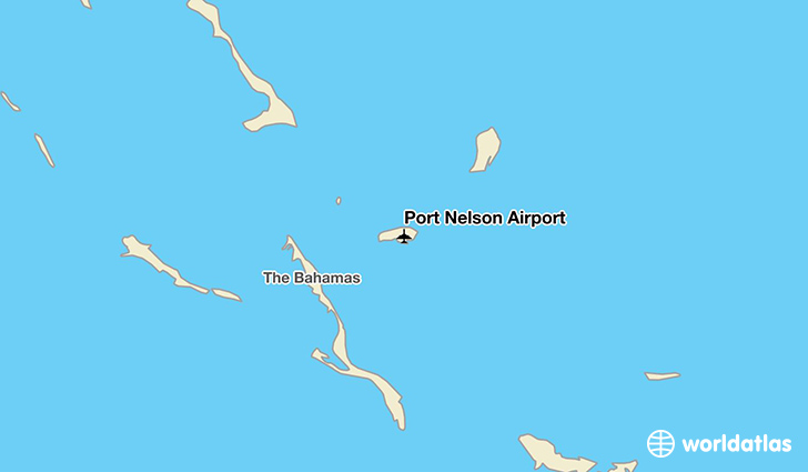 Port Nelson Airport location on a map
