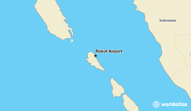 Rokot Airport location on a map