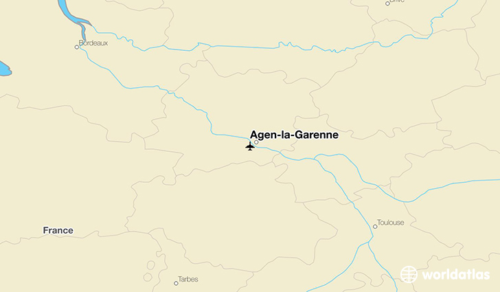 Agen-la-Garenne location on a map