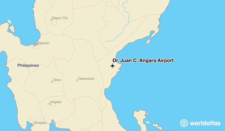 Dr. Juan C. Angara Airport location on a map