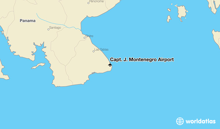 Capt. J. Montenegro Airport location on a map