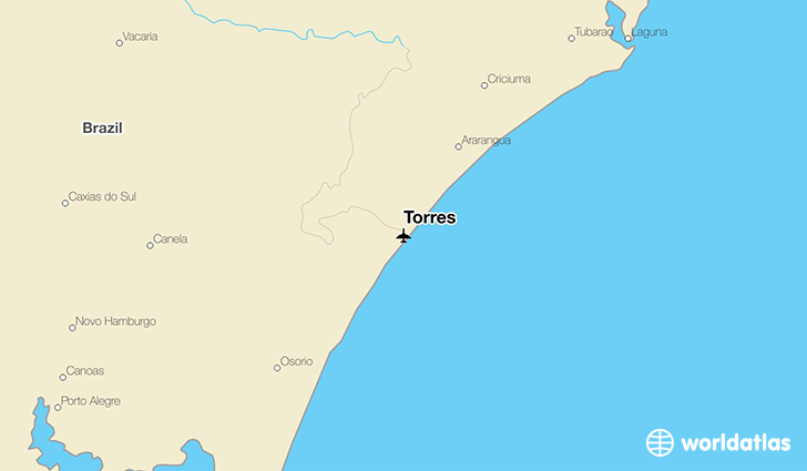 Torres location on a map