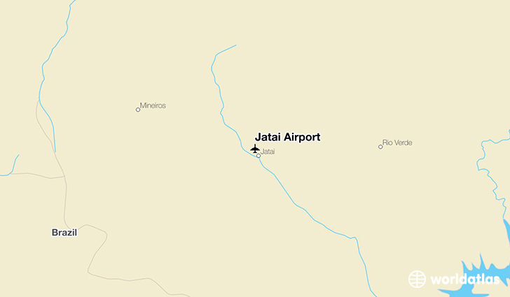 Jatai Airport location on a map