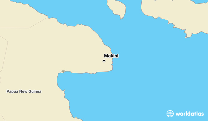Makini location on a map
