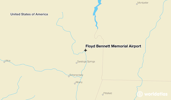 Floyd Bennett Memorial Airport location on a map