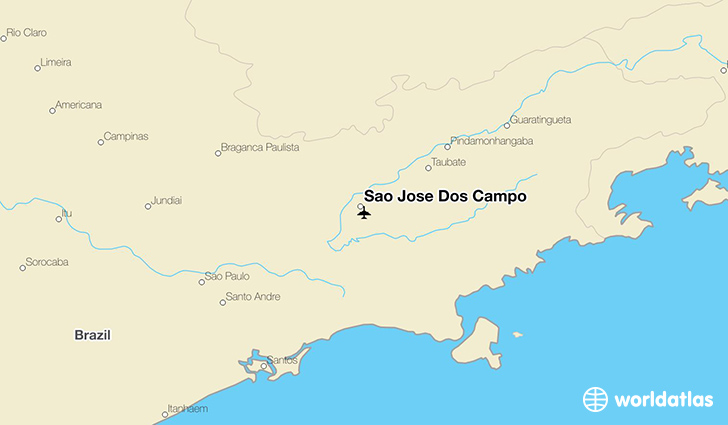 Sao Jose Dos Campo location on a map