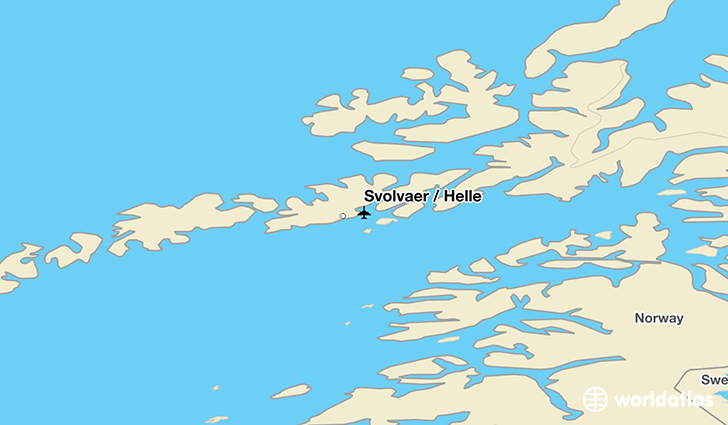 Svolvaer / Helle location on a map