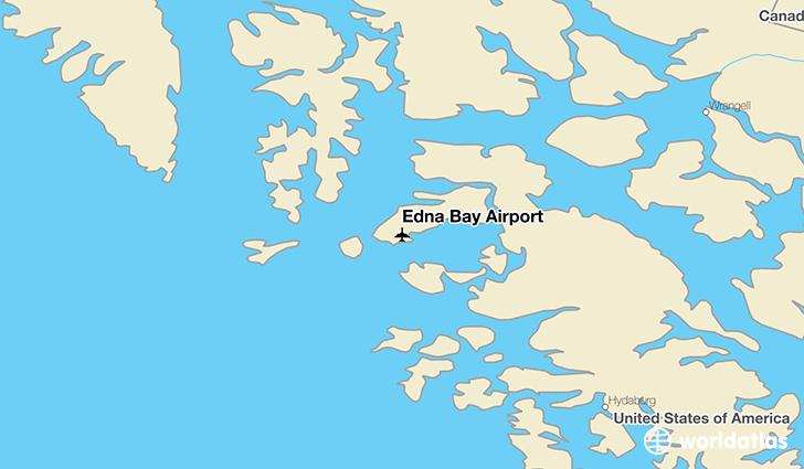 Edna Bay Airport (EDA) - WorldAtlas